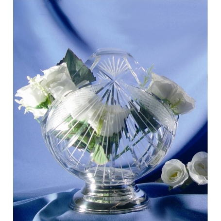 Basket-shaped vase with engraving (J8 design)