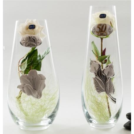 Bohemia Gota vase. Wedding/anniversary gift.