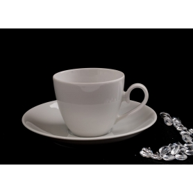 Volare coffee cup. White collection.