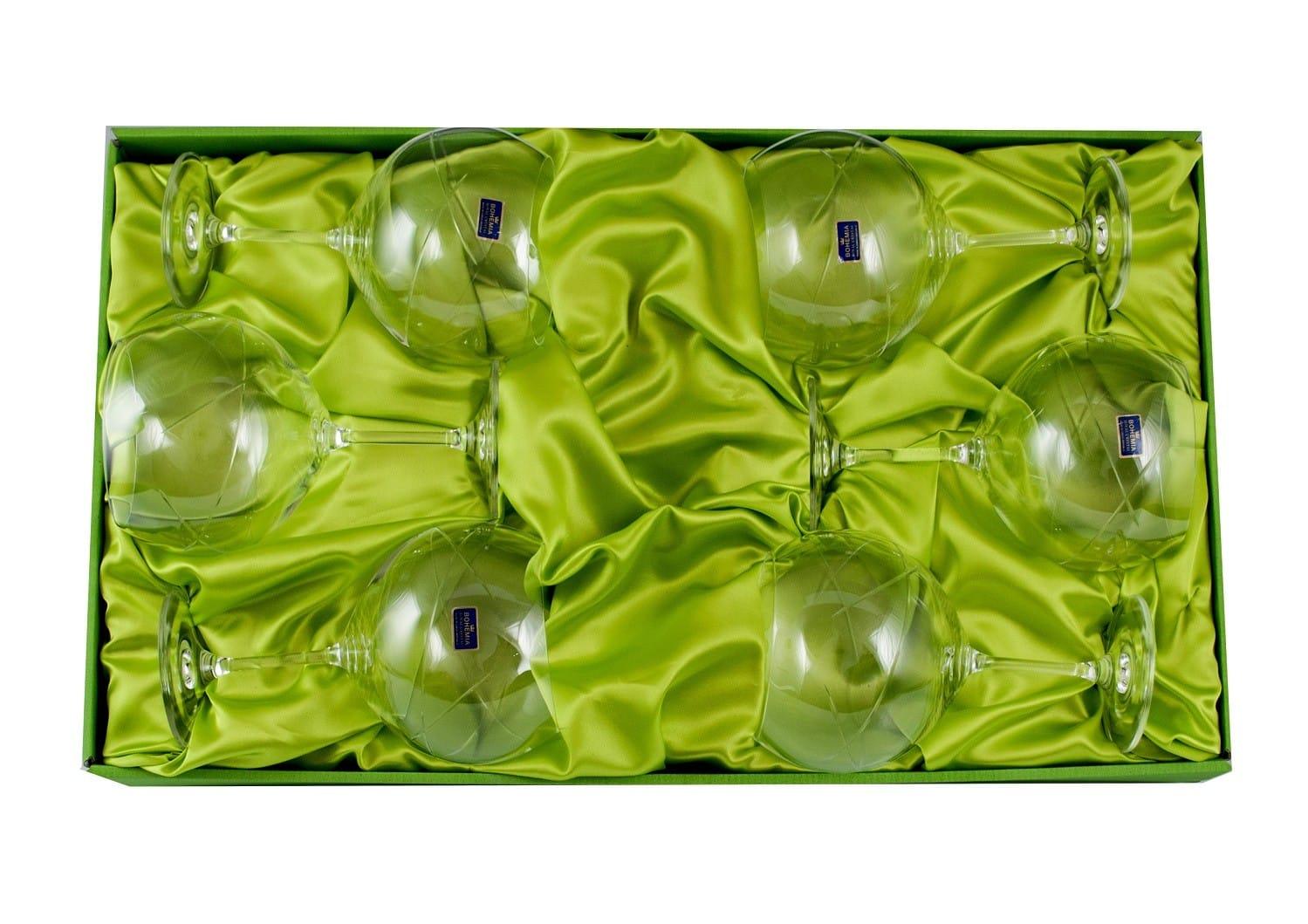 Six-glass Gin and Tonic set (E5 engraving)