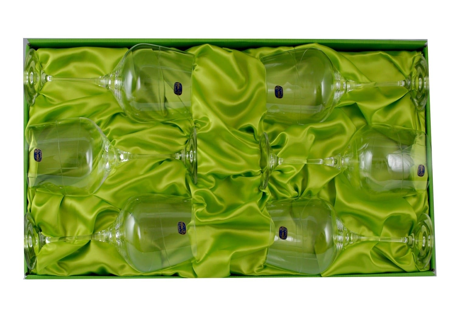 Six-glass Gin and Tonic set Rebeca with engraving (203)