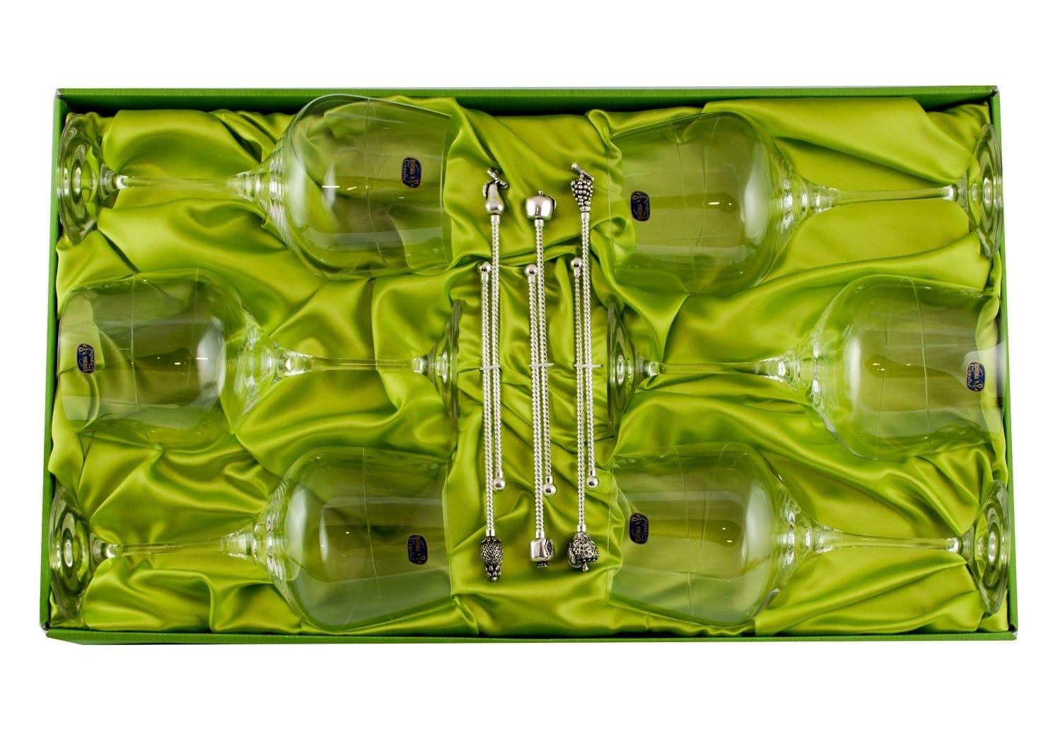 Juego de Gin-tonic Rebeca (talla 203) con seis removedores.