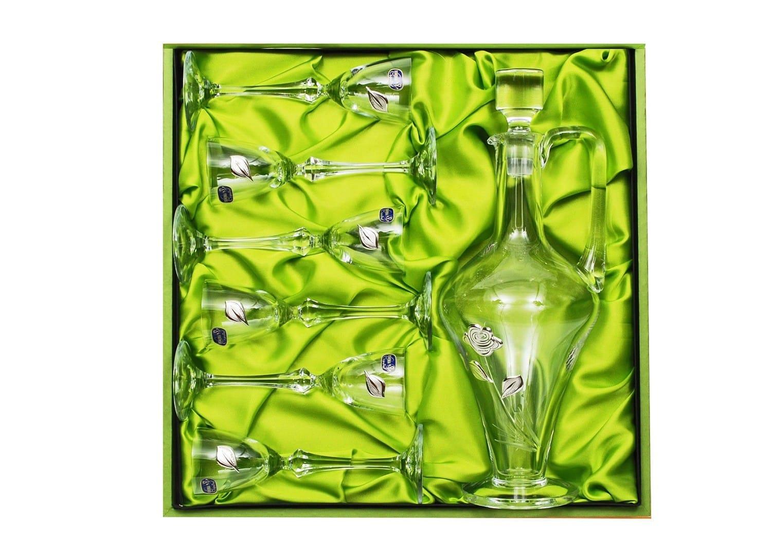 Liquor set Elisabeth with Balerina bottle (C1 engraving)