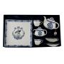Set de té Volare 25 Aniversario: 2 tazas, azucarero, tetera y bandeja col. Celta