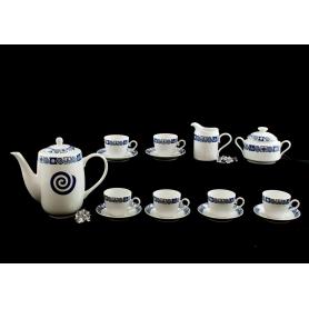 Set de 9 piezas para café Volare col. Celta