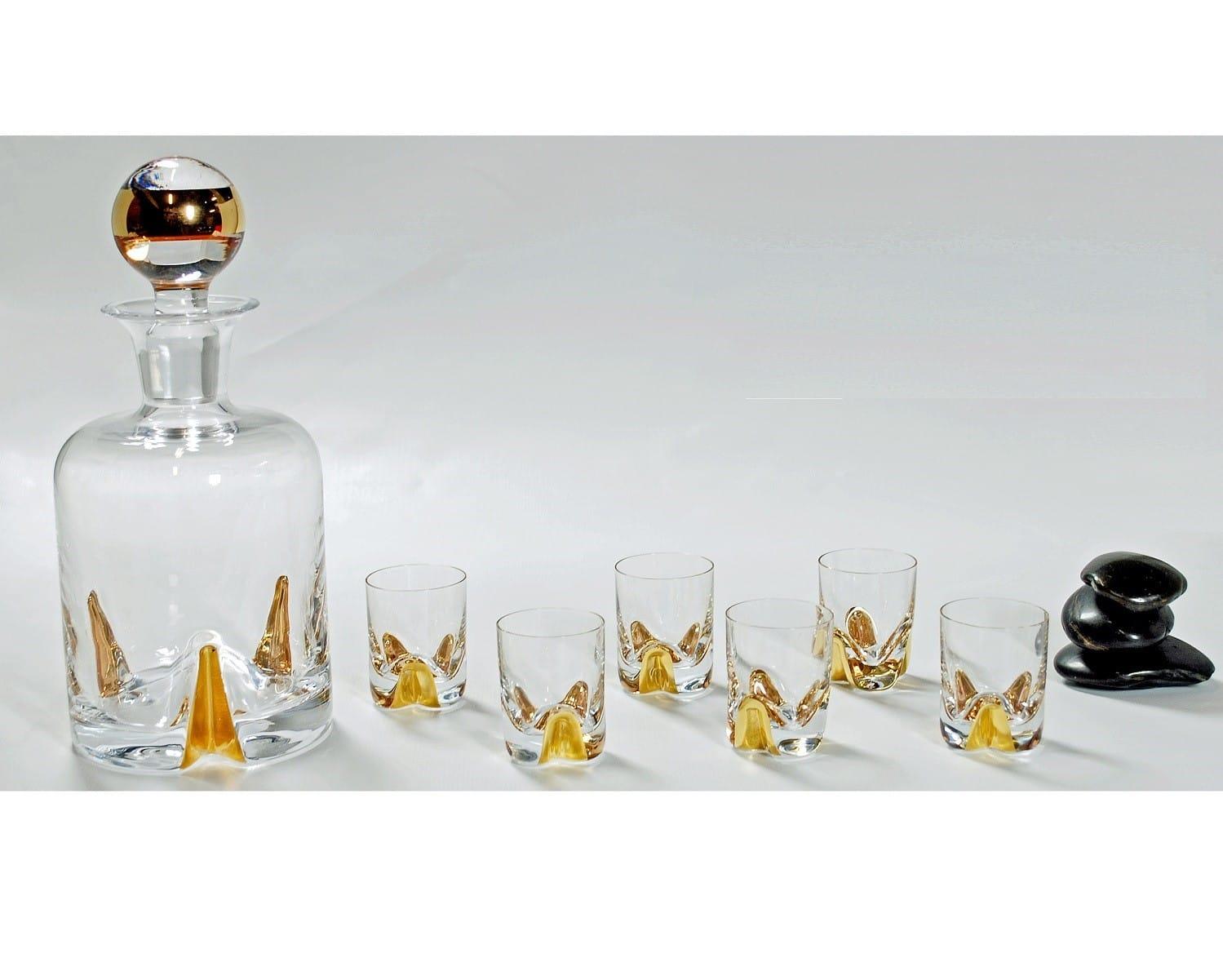 Juego de licor Bohemia Suerte Oro