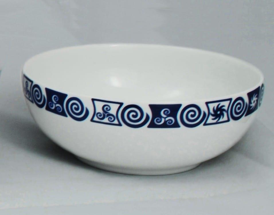 Small, white porcelain bowl. Luna design. Celta Collection