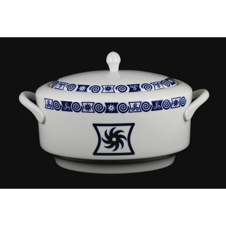 Sopera de Porcelana col. Celta