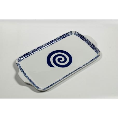 Porcelain platter Gracia. Celta collection.