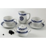 Four-piece breakfast set. Volare design, Celta collection.