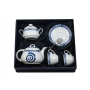 Five-piece breakfast set, incl. Marcador tray. Volare design, Celta collection.