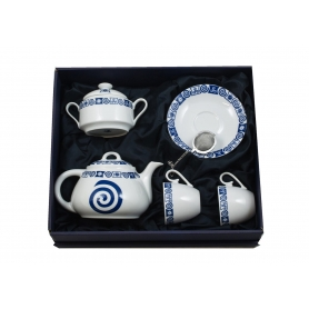 Five-piece tea set. Volare design, Celta collection.