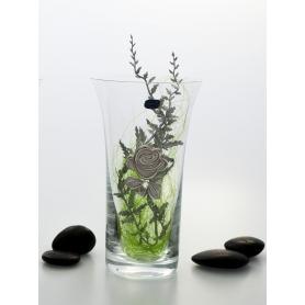 Decorated flower vase 507