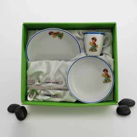 Set vajilla infantil