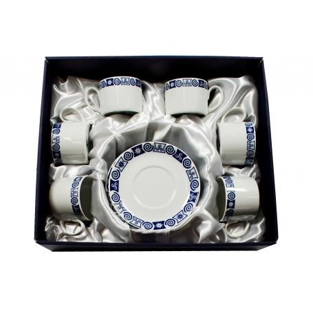 Six-cup tea set. Pombal design. Celta collection.