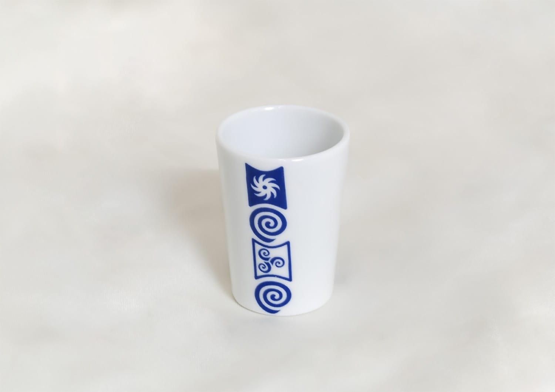 Chupito de porcelana Mus col. Celta