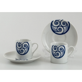 Pombal coffe cup and saucer. Lua collection.