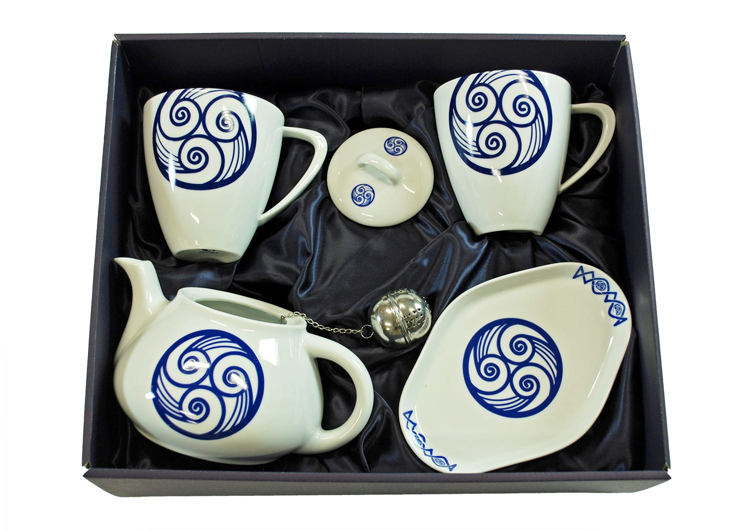 Five-piece Mug set. Volare design, Lua collection.