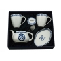 Five-piece Mug set. Volare design, Celta collection.