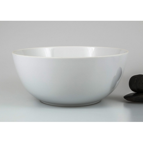 Large Ema serving bowl. White collection.