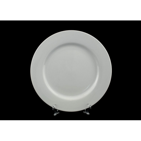 Dinner plate. Coimbra design, white collection