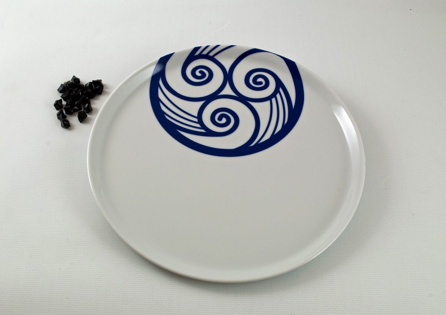 Round large Pizza plate. Lua collection.