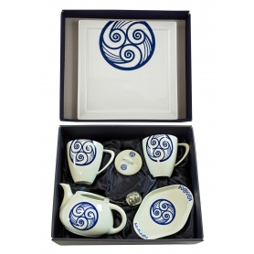 Six-piece Mug Volare set. Lua collection.