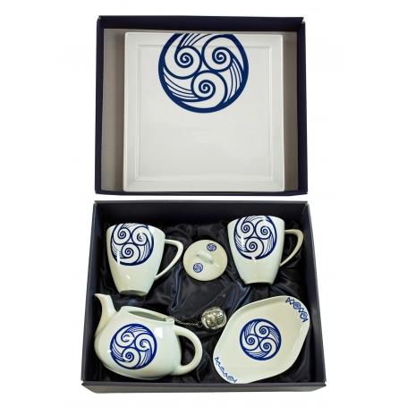 Six-piece Mug Volare set. Lua collection.