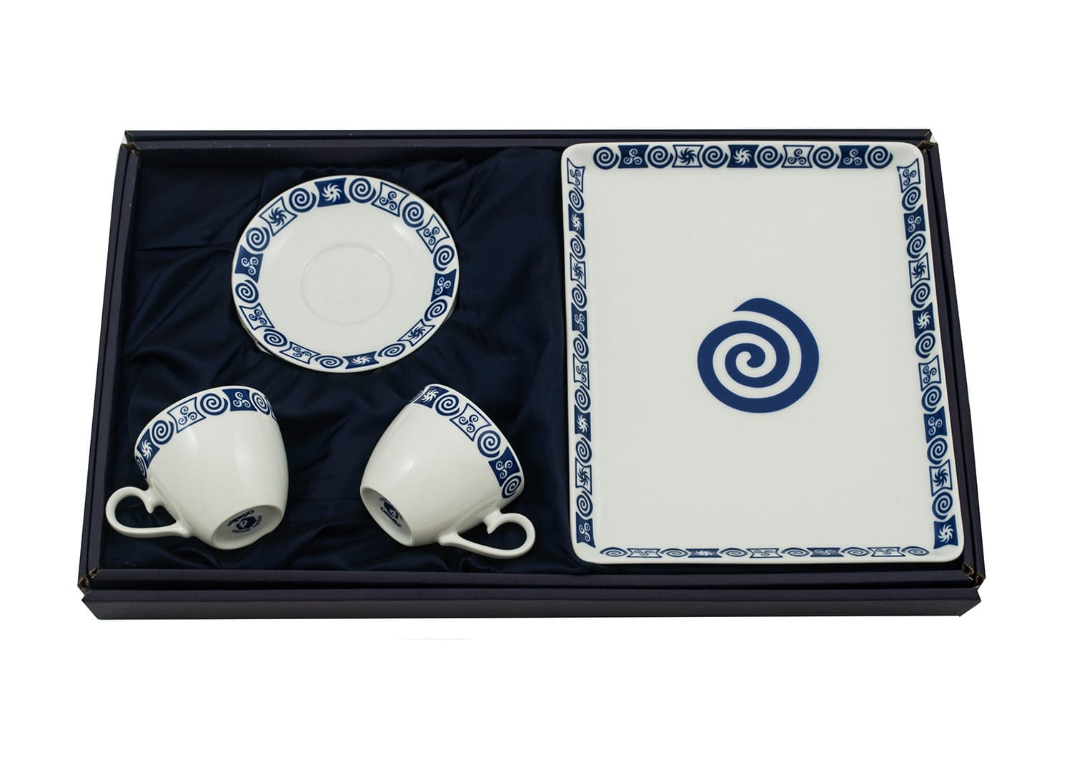 Three-piece coffee set. Volare desing, Celta collection.