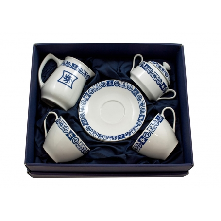 Four-piece breakfast set. Volare design, Celta collection.