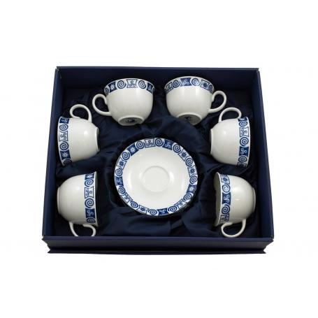Six-mug tea set Moments. Celta collection.