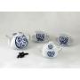 Four-piece tea set. Moments design, Lua collection.