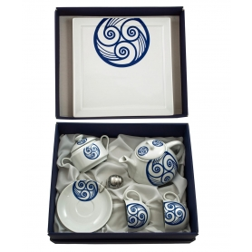 Set de té Moments 6 pz. col. Lúa