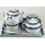 SIx-piece tea set. Moments design, Celta collection.