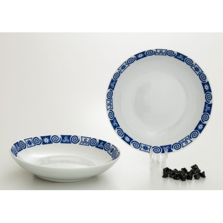 Coupe deep plate. Celta collection.