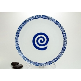 Porcelain pizza platter. Celta collection.