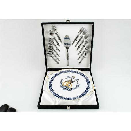 14-piece cake server set 50th anniversary. Celta collection