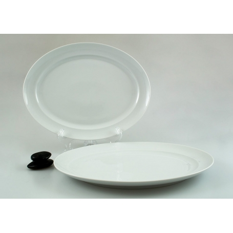 Cantao serving platter. White Collection.