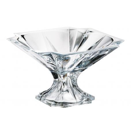 Bohemian glass footed centrepiece Metropolitan