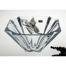 Bohemian glass centrepiece Metropolitan