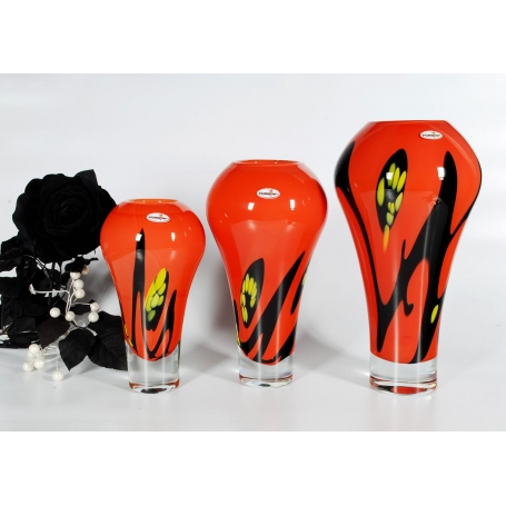 Murano glass Focus vase