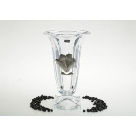 Bohemian glass Magma vase