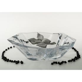 Angle Treasure centrepiece. Bohemian Glass