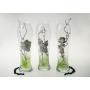 Bohemian glass vase 82238