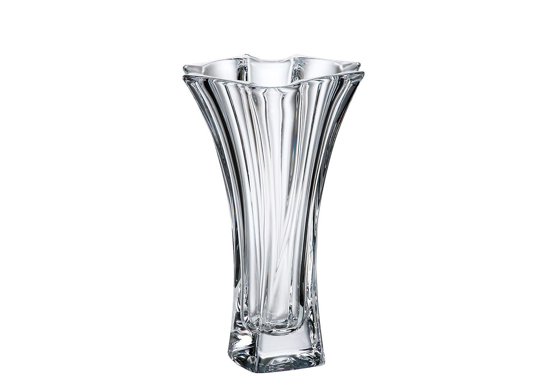 Bohemian glass Neptune vase