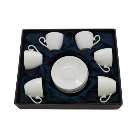 Set de té Volare 6 tazas col. Blanca