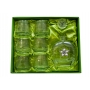 7 pz Alma Whisky set with Puccini bottle (203 engraving)
