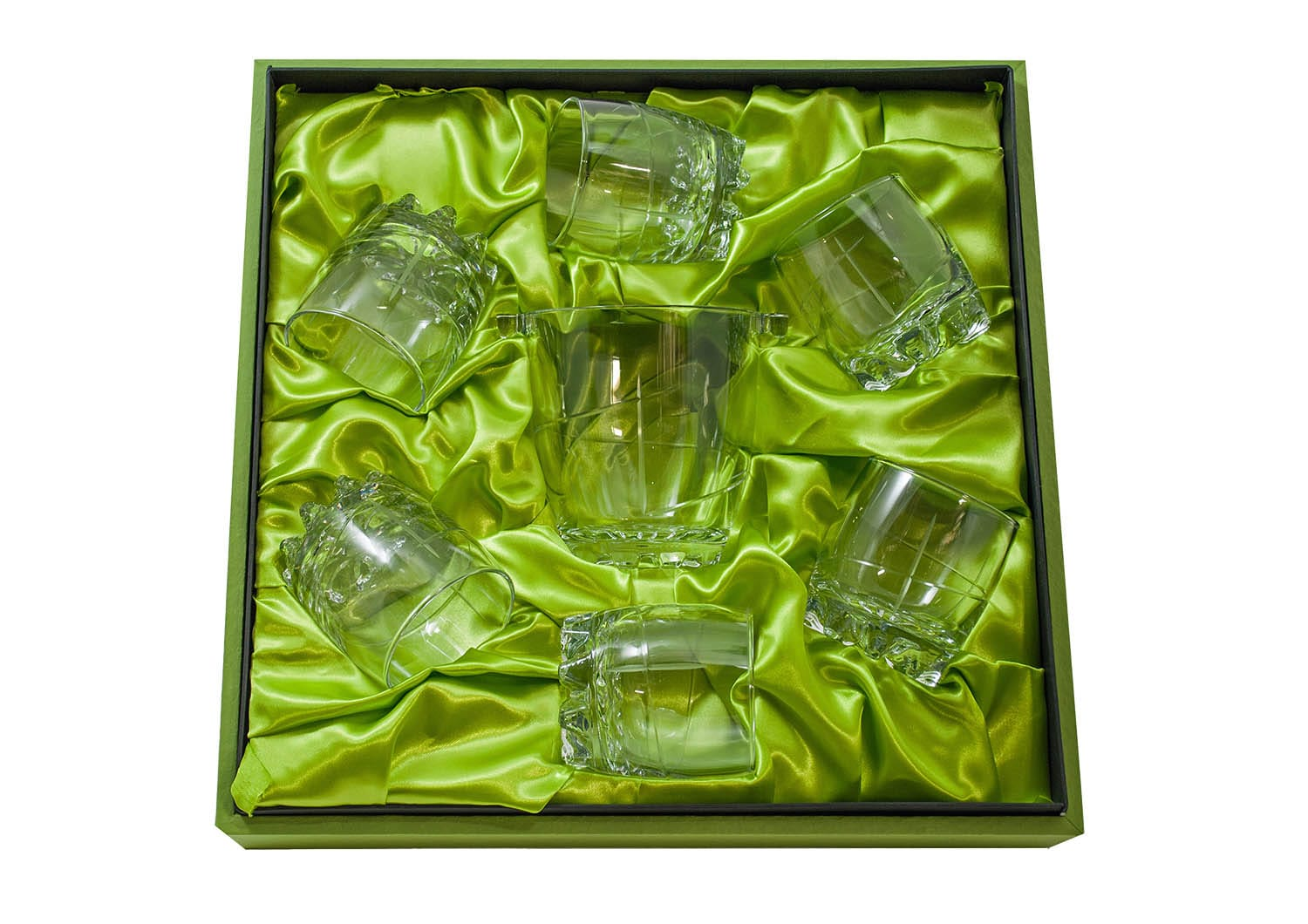 7 pz Sylvana Whisky set with ice bucket (203 engraving)