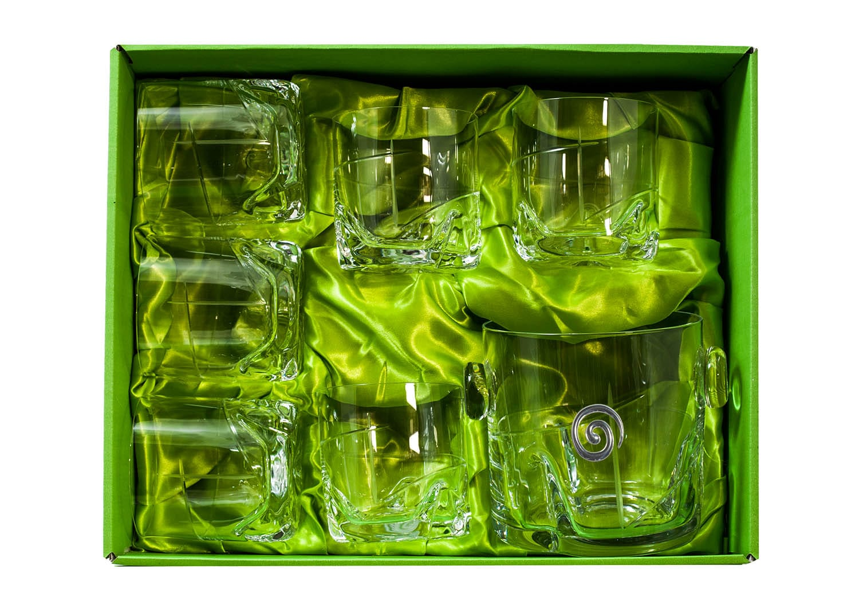 Juego de Whisky Suerte 7 pz con cubitera (talla 203)