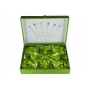 Gin and Tonic Rebeca set. Six glasses (203 engraving) and stirrers.
